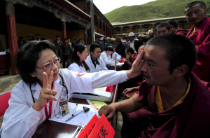 Tibet medical treatment